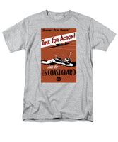 Time For Action - Join The US Coast Guard - Men's T-Shirt  (Regular Fit)