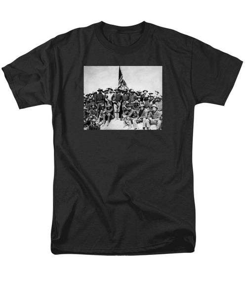 TR and The Rough Riders - Men's T-Shirt  (Regular Fit)
