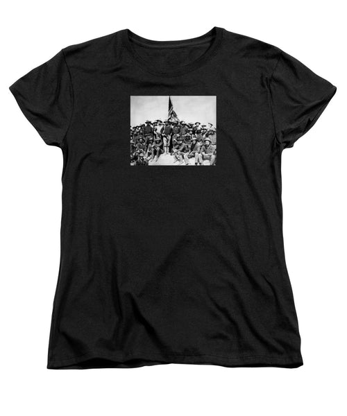 TR and The Rough Riders - Women's T-Shirt (Standard Fit)