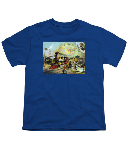 Transcontinental Railroad - Youth T-Shirt