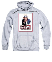Uncle Sam -- I Want You - Sweatshirt