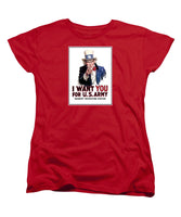 Uncle Sam -- I Want You - Women's T-Shirt (Standard Fit)