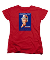 Uncle Sam - I'm Counting On You - Women's T-Shirt (Standard Fit)