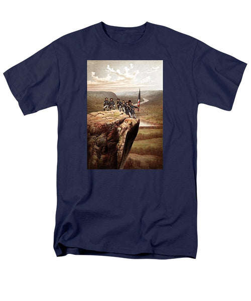 Union Soldiers On Lookout Mountain - Men's T-Shirt  (Regular Fit)
