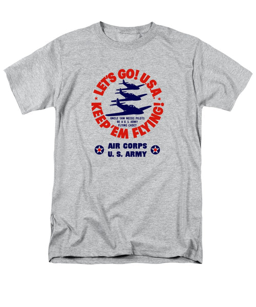 US Army Air Corps - WW2 Recruiting - Men's T-Shirt  (Regular Fit)