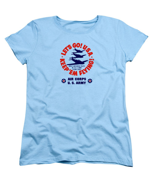 US Army Air Corps - WW2 Recruiting - Women's T-Shirt (Standard Fit)