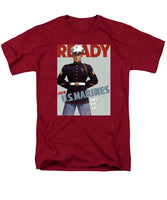 US Marines - Ready - Vintage Recruiting Men's T-Shirt  (Regular Fit)