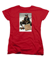 Valley Forge Soldier - WWII Conservation Propaganda - Women's T-Shirt (Standard Fit)