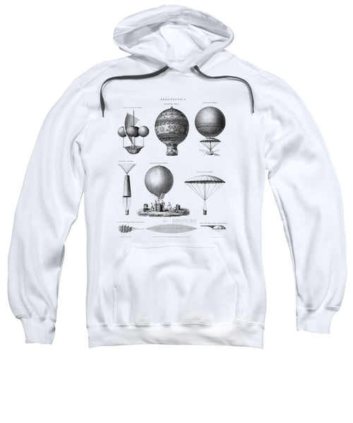 Vintage Aeronautics - Early Balloon Designs - Sweatshirt