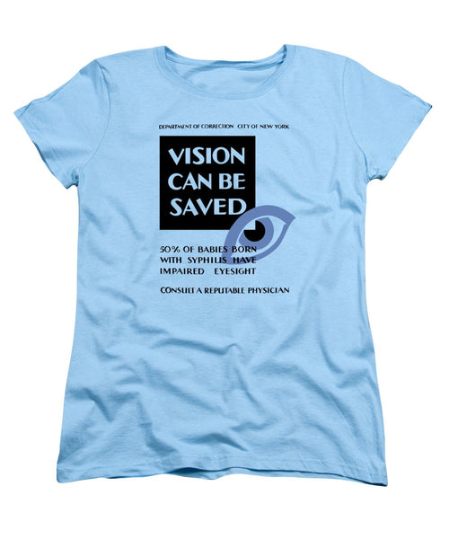 Vision Can Be Saved - WPA - Women's T-Shirt (Standard Fit)