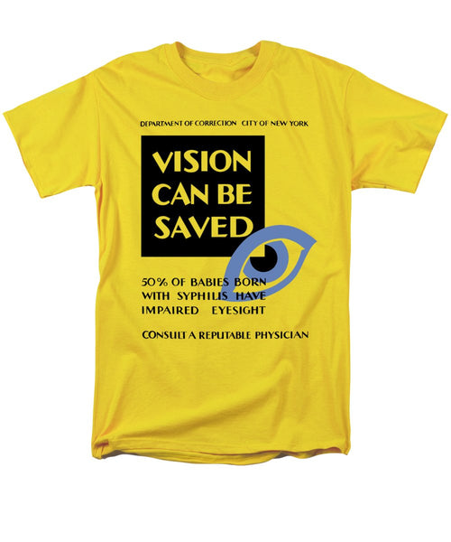 Vision Can Be Saved - WPA - Men's T-Shirt  (Regular Fit)
