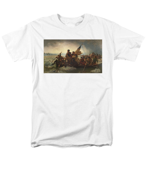 Washington Crossing The Delaware - Men's T-Shirt  (Regular Fit)