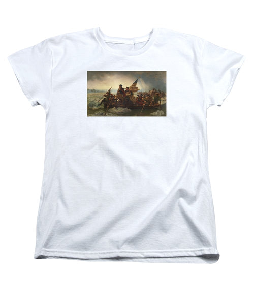 Washington Crossing The Delaware - Women's T-Shirt (Standard Fit)