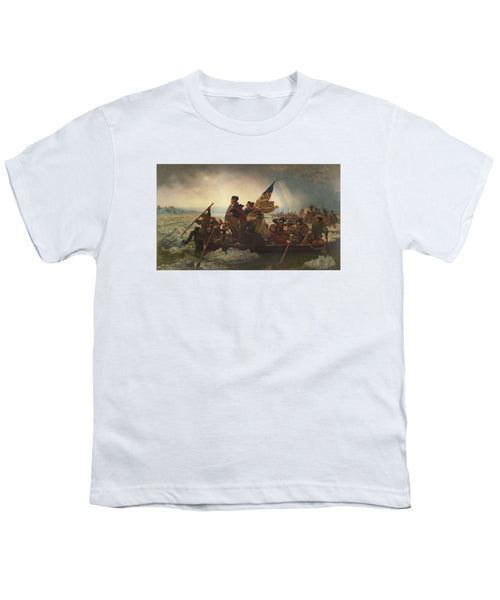 Washington Crossing The Delaware - Youth T-Shirt