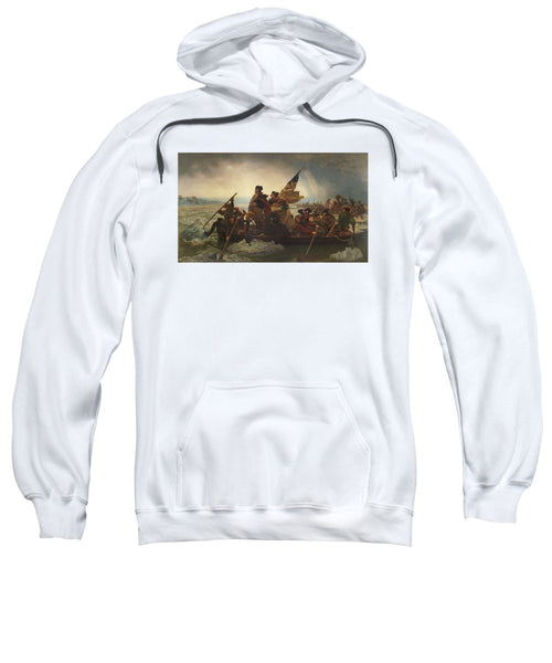 Washington Crossing The Delaware - Sweatshirt