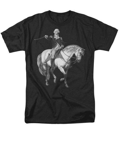 Washington Receiving A Salute At Trenton - Men's T-Shirt  (Regular Fit)