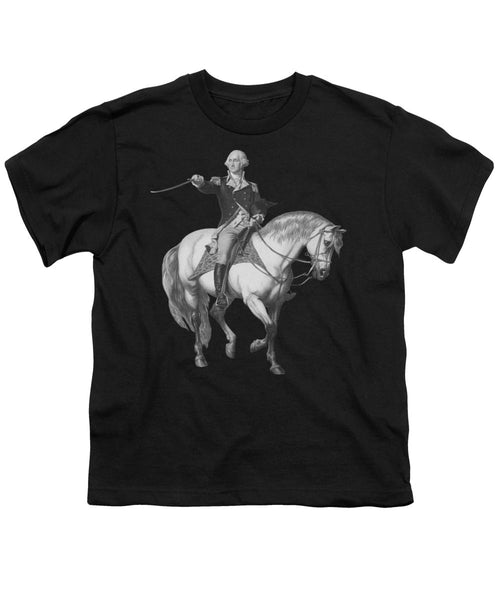 Washington Receiving A Salute At Trenton - Youth T-Shirt