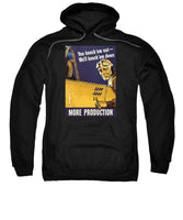 We'll Knock 'em Down - WW2 Propaganda - Sweatshirt