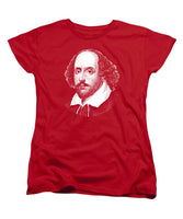 William Shakespeare - The Bard - Women's T-Shirt (Standard Fit)