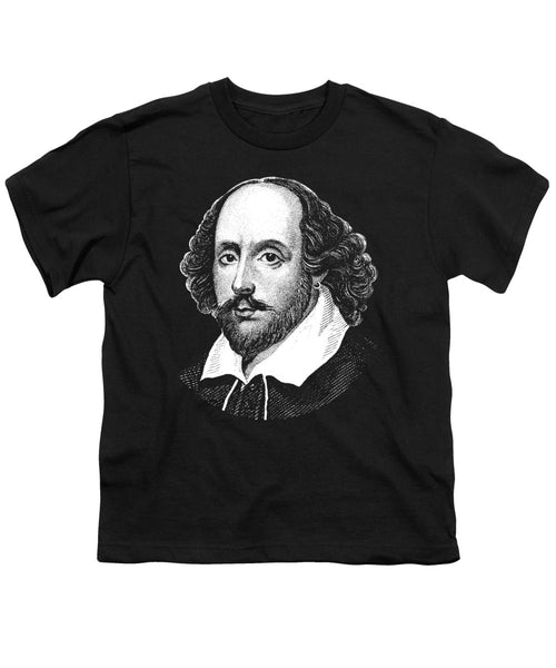 William Shakespeare - The Bard  - Youth T-Shirt