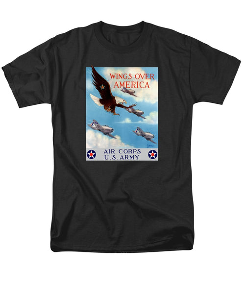 Wings Over America - Air Corps U.S. Army - Men's T-Shirt  (Regular Fit)