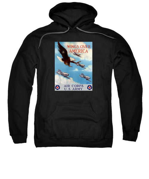 Wings Over America - Air Corps U.S. Army - Sweatshirt