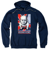 Winston Churchill - Holding The Line - Sweatshirt