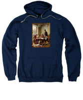 Writing The Declaration Of Independence - Sweatshirt