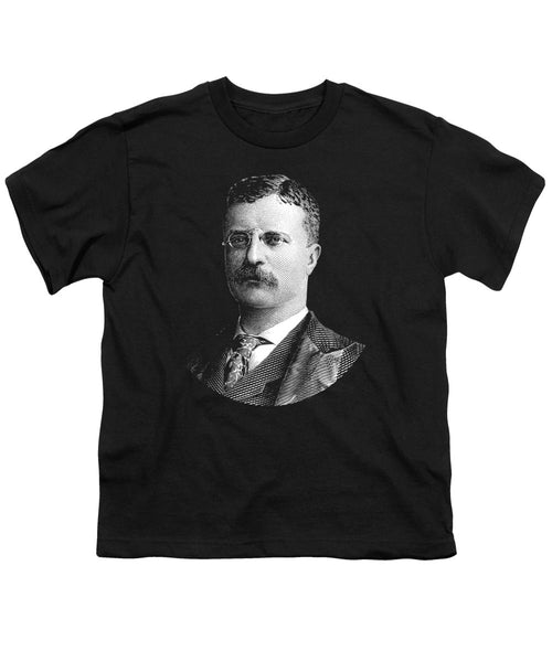Young Theodore Roosevelt Graphic - Youth T-Shirt
