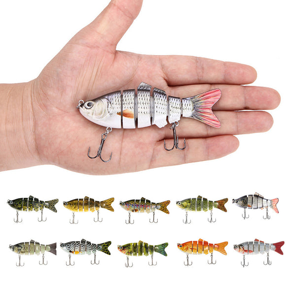 Fishing Lure 6 Segment Crankbait