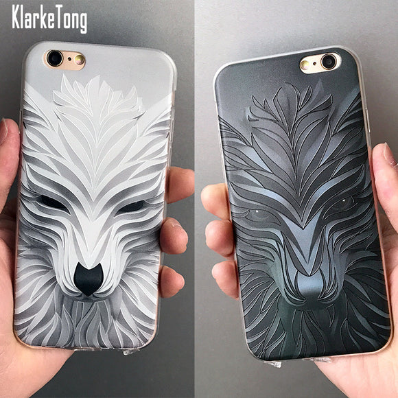 Luxury 3D Relief Phone Case For iPhone