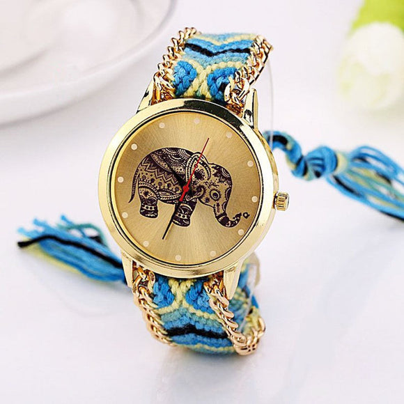 New Design Elephant Handmade Watches