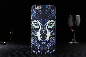 Hot 3D Animal Wolf Cover For Iphone