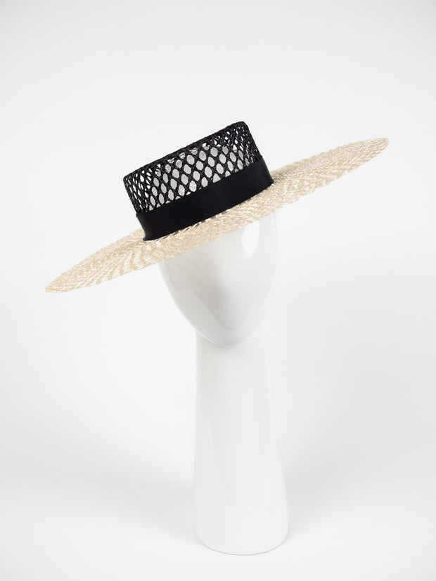 SUMMER STRAW BOATER