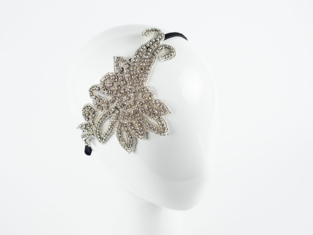 DECO CRYSTAL HEADPIECE