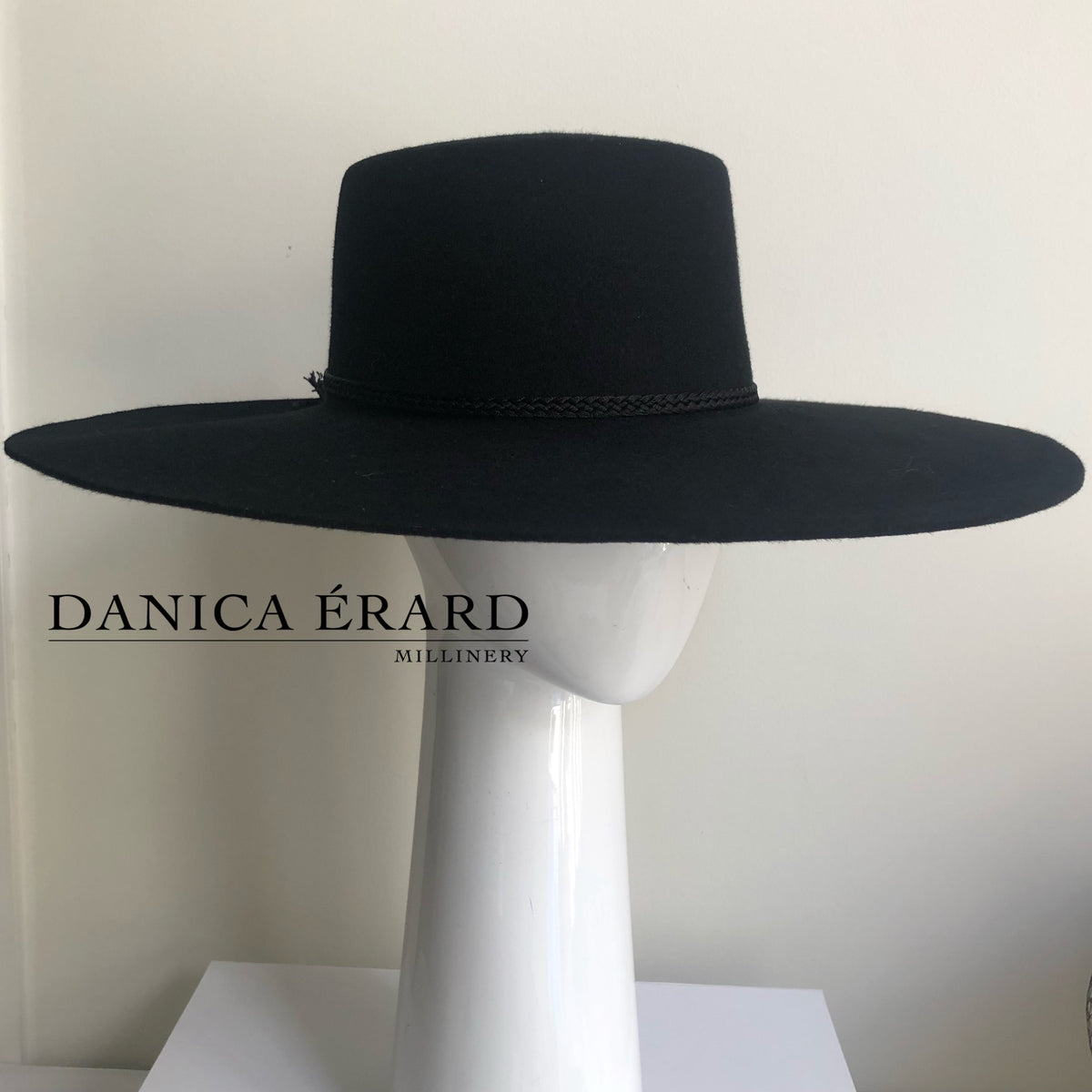 LADY B ~ Exclusive Danica Erard Millinery Design