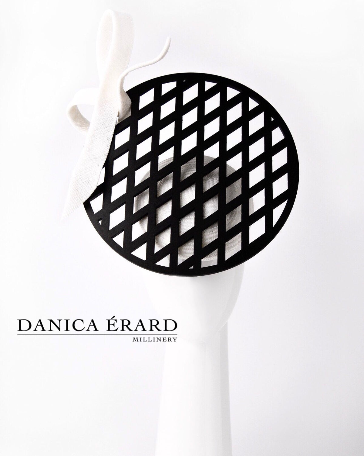 """DIAMOND DISC HEADPIECE'' ~ Exclusive Danica Erard design"