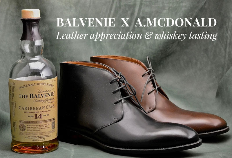 Balvenie x A.McDonald leather & whiskey tasting