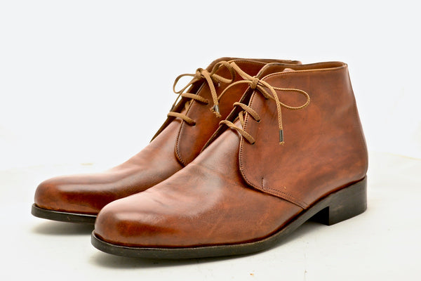 Antique Cognac cordovan desert boot