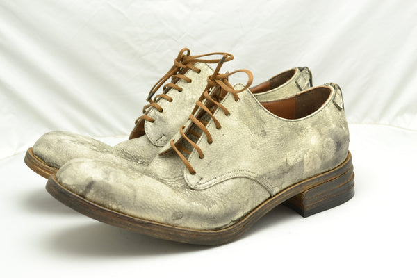 Yak leather shoe