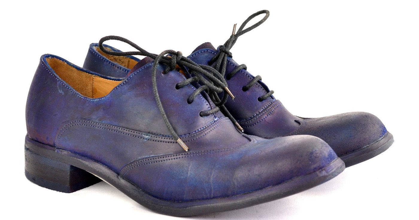 Asym oxford  |  Navy overdye