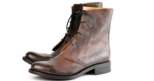 Derby Boot  |  Ochre