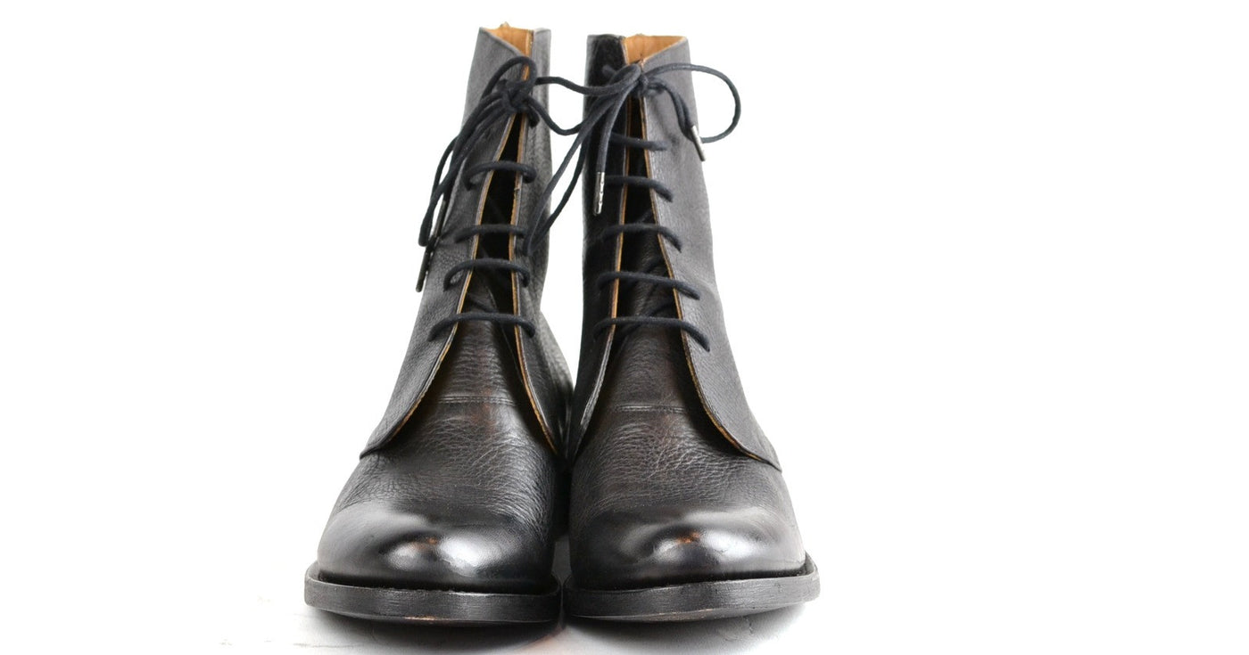 Derby Boot  |  Black Overdye