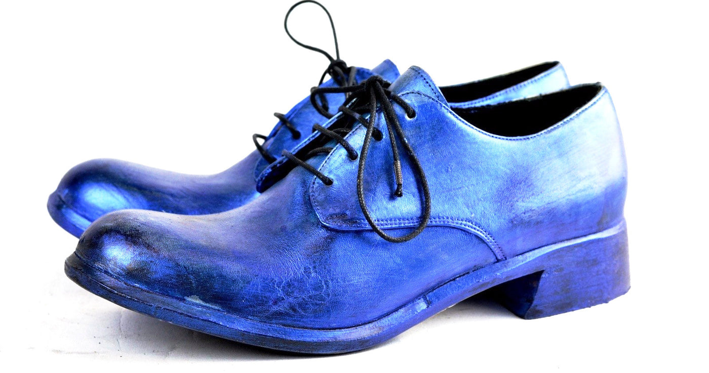 Asym derby  |  Electric blue