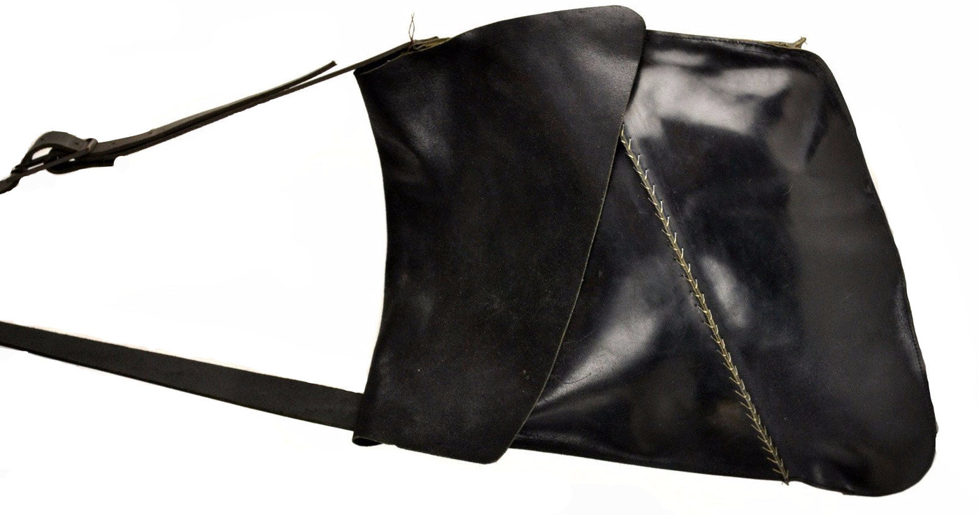 Shoulder Bag Reverse  |  Black Cordovan