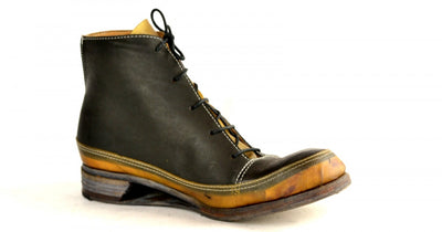 Sneaker boot  |  Transparent yak & Cordovan
