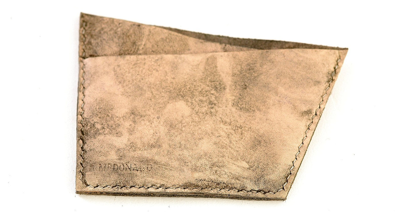 Card Wallet  |  Natural calf
