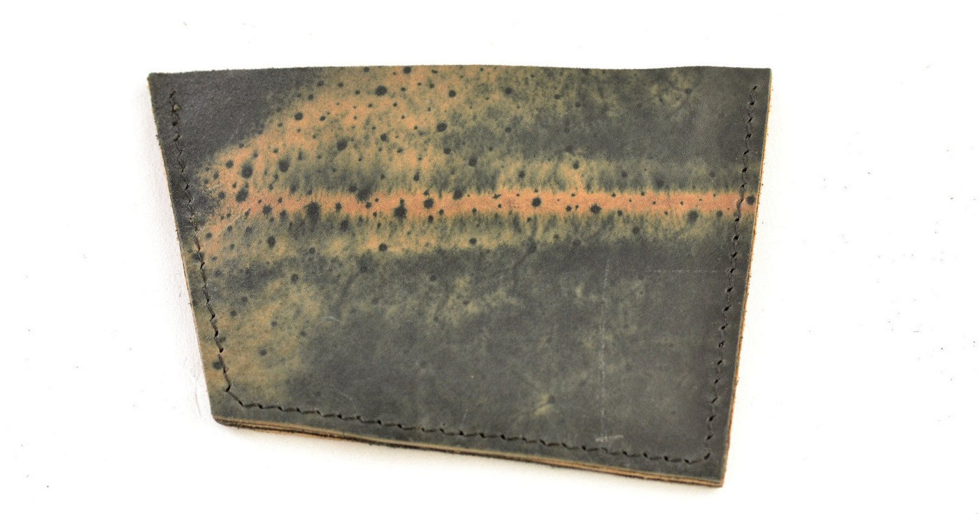 Card Wallet  |  Tan Mix Cordovan