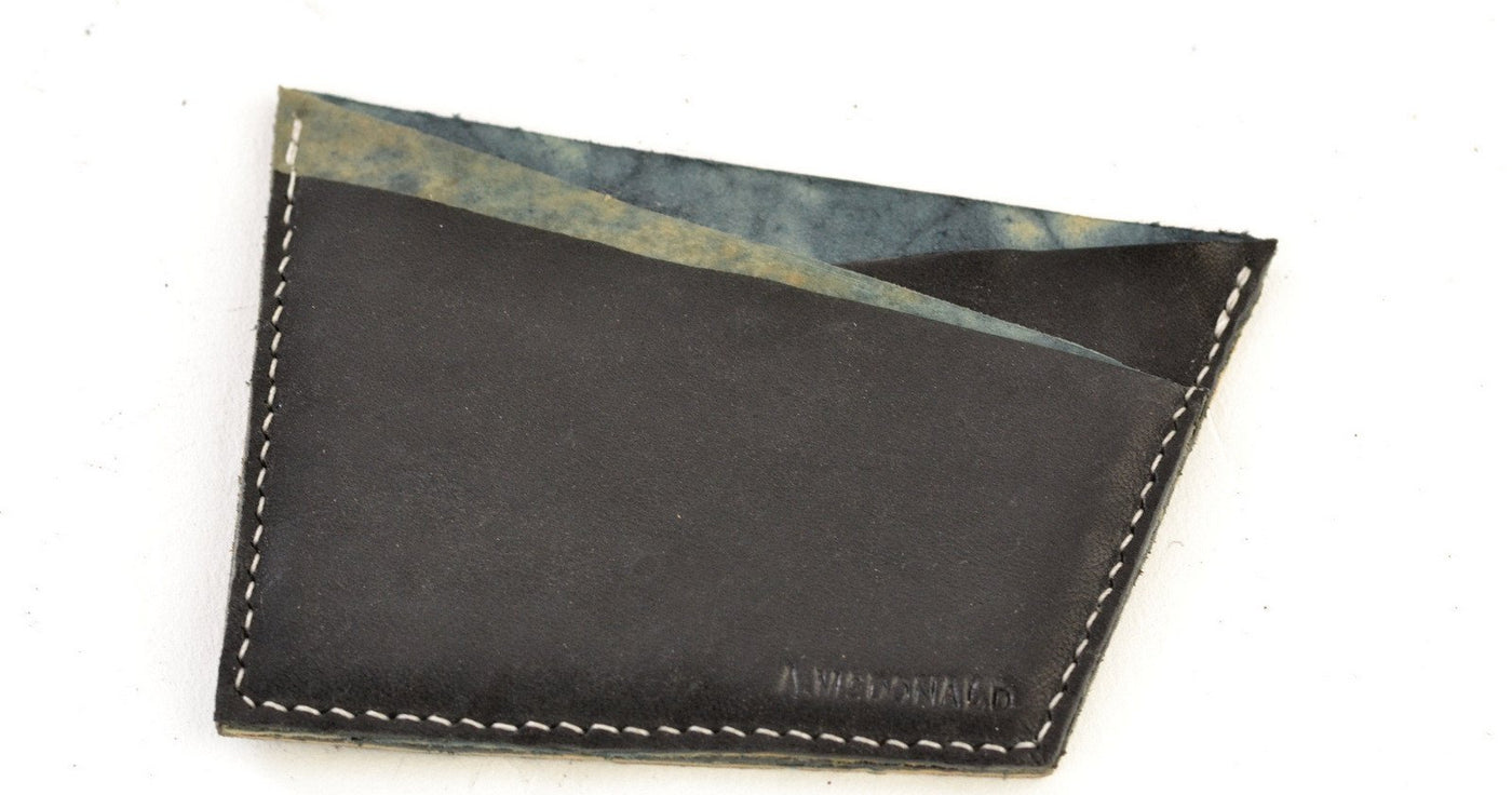 Card Wallet  | Black Rev Cordovan