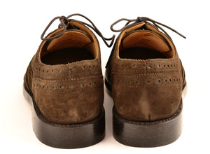 Wingtip oxford |  Choc | Suede